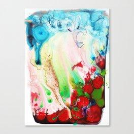I Spilt My Cordial Canvas Print