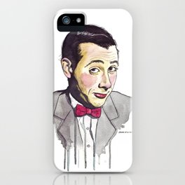 Pee Wee iPhone Case