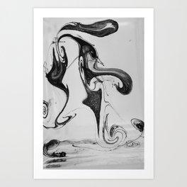 Form Ink No. 24 Art Print