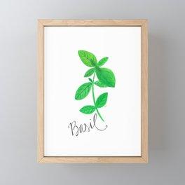 Basil Garden Art Framed Mini Art Print