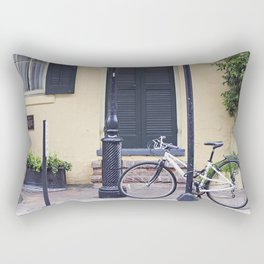 New Orleans Andrew Jackson Bicycle Rectangular Pillow