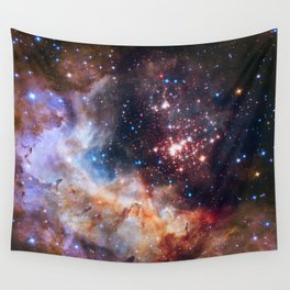 Star Cluster Westerlund 2 Wall Tapestry