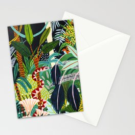 The Jungle at Midnight Stationery Cards