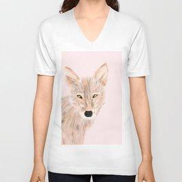 Indian wolf Unisex V-Neck