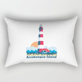 Assateague Island - Maryland. Rectangular Pillow