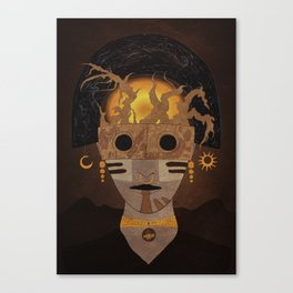 """Priest"" Canvas Print"