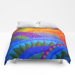 Orb Cluster Illumination Comforters