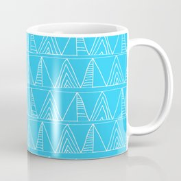 Triangles- Simple Triangle Pattern for hot summer days - Mix & Match Coffee Mug