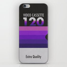 Old Video Cassette iPhone Skin