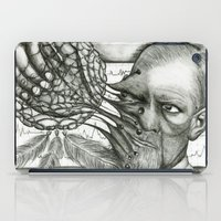 freud iPad Cases featuring Freud by CasiRodriguez