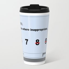 Inappropriate Travel Mug