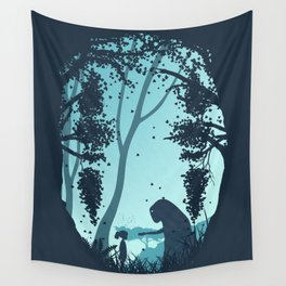 Lonely Spirit Spirited Away Wall Tapestry