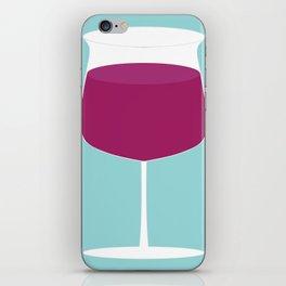 Showtasting - Wine Glass - Big Joe iPhone Skin