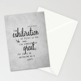 Orville Wright Flying Stationery Cards