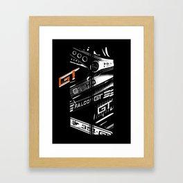 Ford Falcon XYGTHO Stripe Framed Art Print