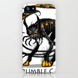 Brumble Cat iPhone Case