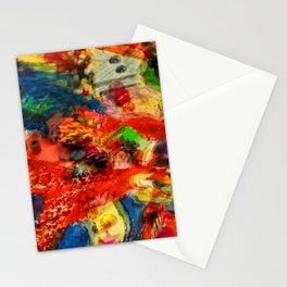 Psychedelic. Stationery Cards