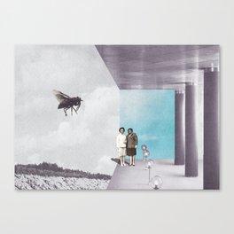 La mouche Canvas Print