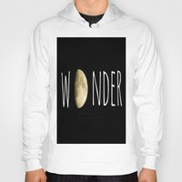 wonder Hoodies featuring Wonder by ALLY COXON
