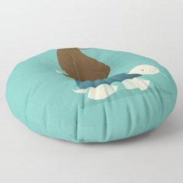 Slow Ride Floor Pillow