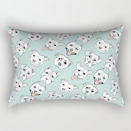 Pittie Pittie Please! 3 Rectangular Pillow