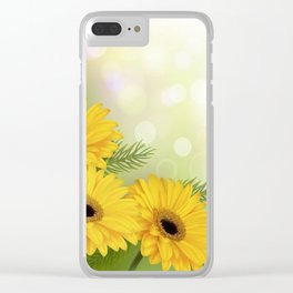 Art Flowers V18 Clear iPhone Case