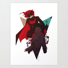 Aquainted With The Night Art Print