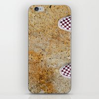 vans iPhone & iPod Skins featuring Vans by Neil John Smith
