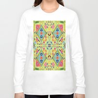 mirror Long Sleeve T-shirts featuring Mirror  by MinaSparklina
