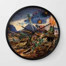 GiJoe To The Rescue Wall Clock