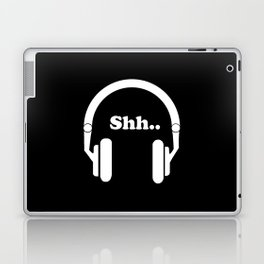 Headphones and music Laptop & iPad Skin