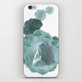 "La Virgen de Guadalupe series: ""Succulents"" iPhone Skin"