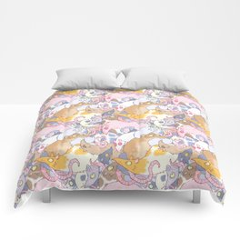 Fancy Rat Pattern Comforters