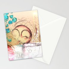 drift ashore Stationery Cards