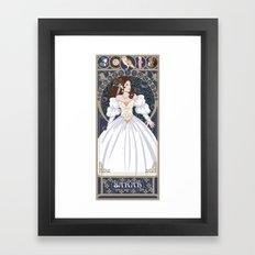 Sarah Nouveau - Labyrinth Framed Art Print