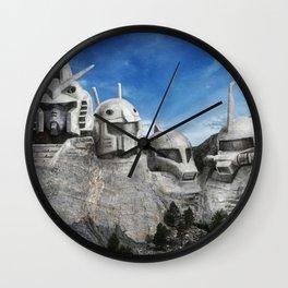 Rushmore Gundam Wall Clock