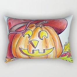 Country Pumpkin Rectangular Pillow