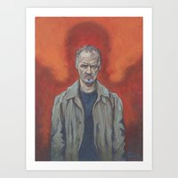 birdman Art Prints featuring Birdman by Todd Spence