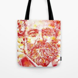 JULES VERNE - watercolor on paper Tote Bag