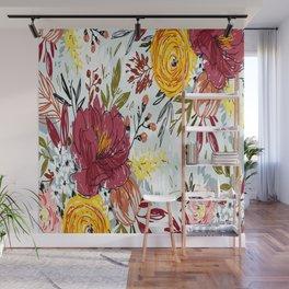 Beautiful Roses Wall Mural