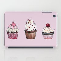 cupcakes iPad Cases featuring Cupcakes by Natalie Murray