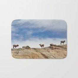 Big Horn Sheep Bath Mat