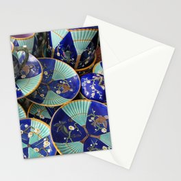 Wedgwood majolica Fan pattern Stationery Cards