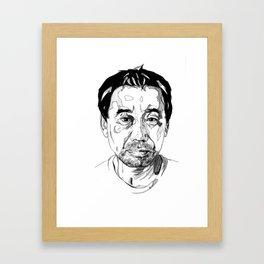 Haruki Murakami Framed Art Print