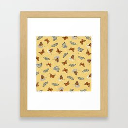 Butterfly Array Framed Art Print