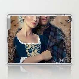 Claire and Jamie Laptop & iPad Skin