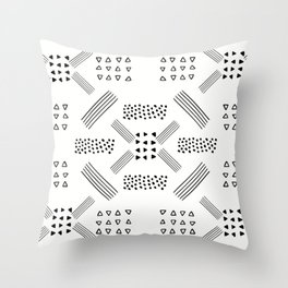 Abstract Geometric 2 Throw Pillow