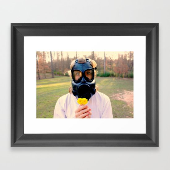 Contagious Spring Framed Art Print