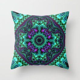 Time Keeps on Slipping into the Future Throw Pillow