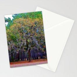 Pine Tree Landscape Stationery Cards